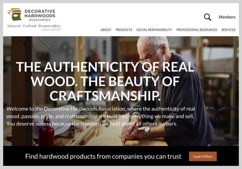 Decorative Hardwoods Homepage